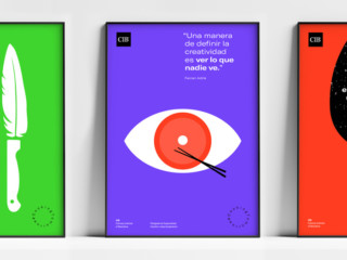 Graphic series for CIB Culinary Institute of Barcelona